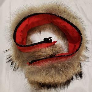 Authentic Canada Goose Fur trim for hood